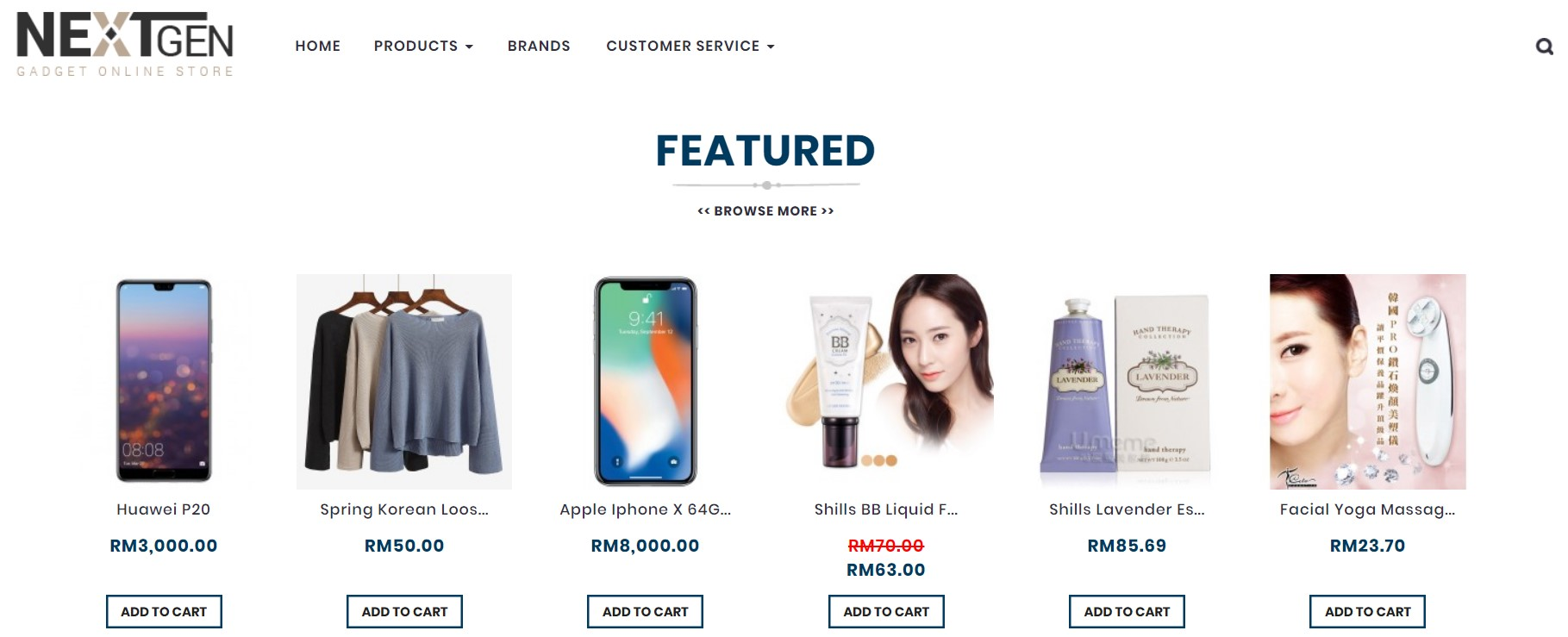 a7355548589 Wanted to attract customers' attention to certain products? Activating  Featured Module on your Unicart store allows you to promote specific  products and ...