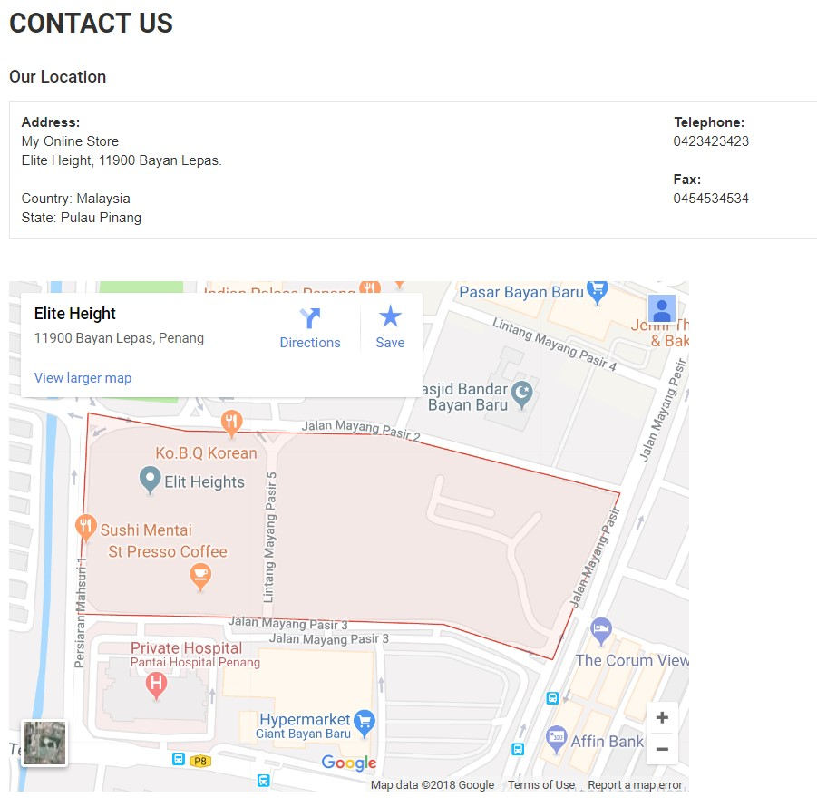 How to Embed Google Map for Store Location – UniCart Support Center